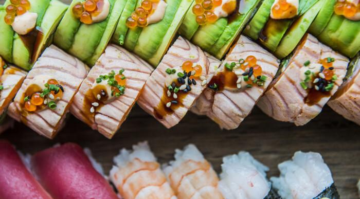 bedste sushi kbh