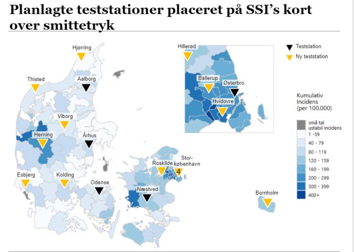 Nyt testtelt i Esbjerg skal hjælpe med at øge antallet af
