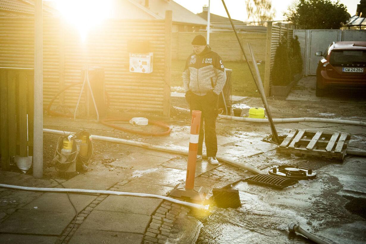 Billeder fra et døgn med stormflod