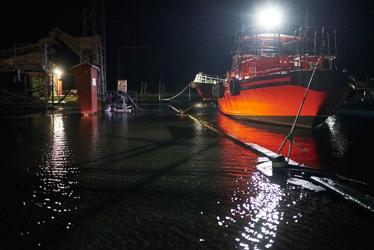 Billeder fra stormfloden