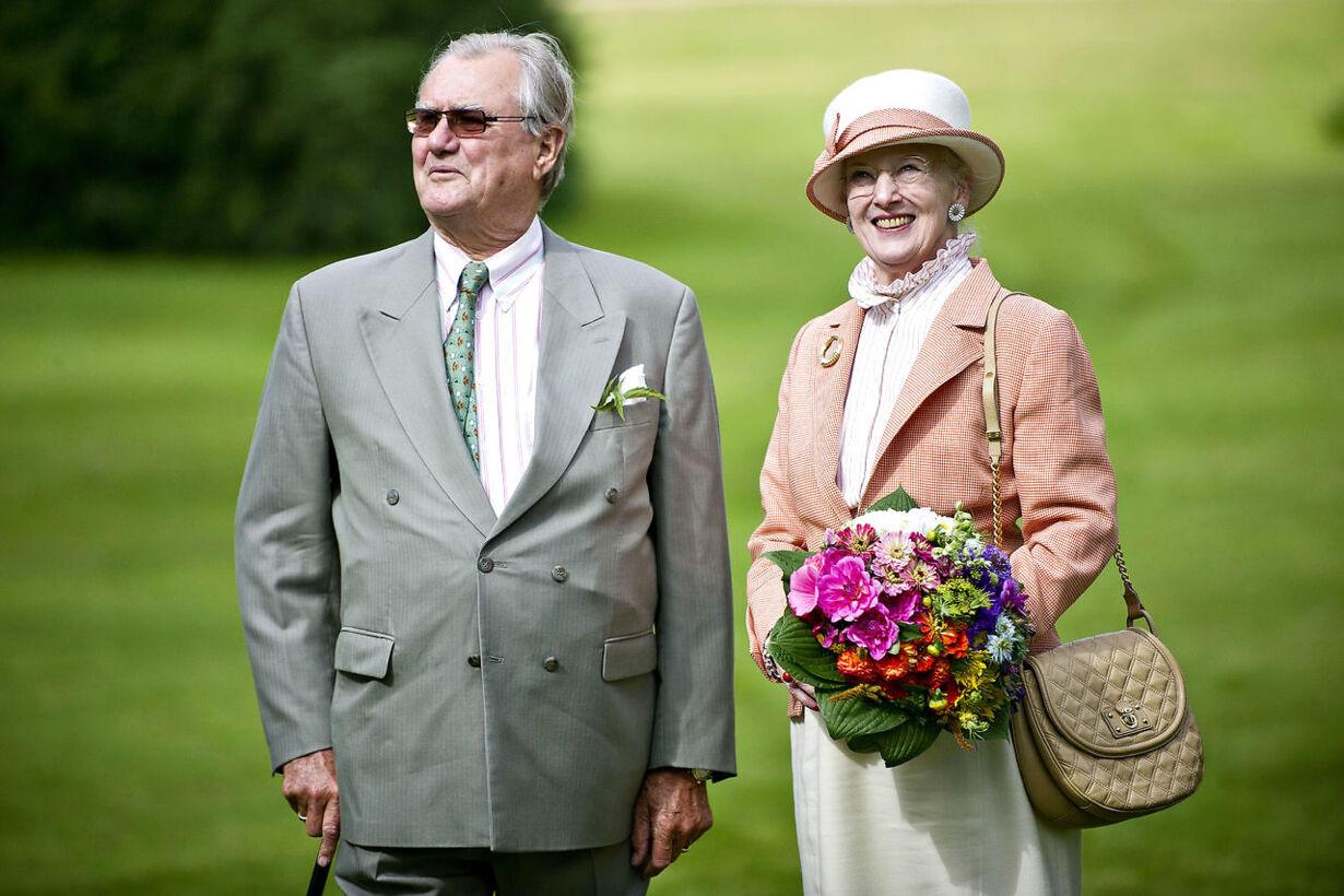 HKH Dronning Magrethe og HM Prins Henrik besøgte tirsdag d. 4.