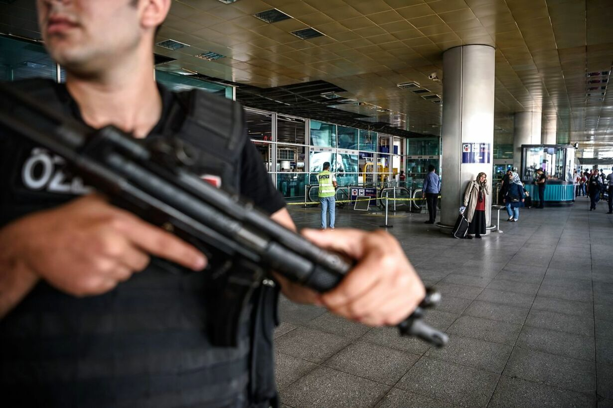 TURKEY-ATTACKS-AIRPORT