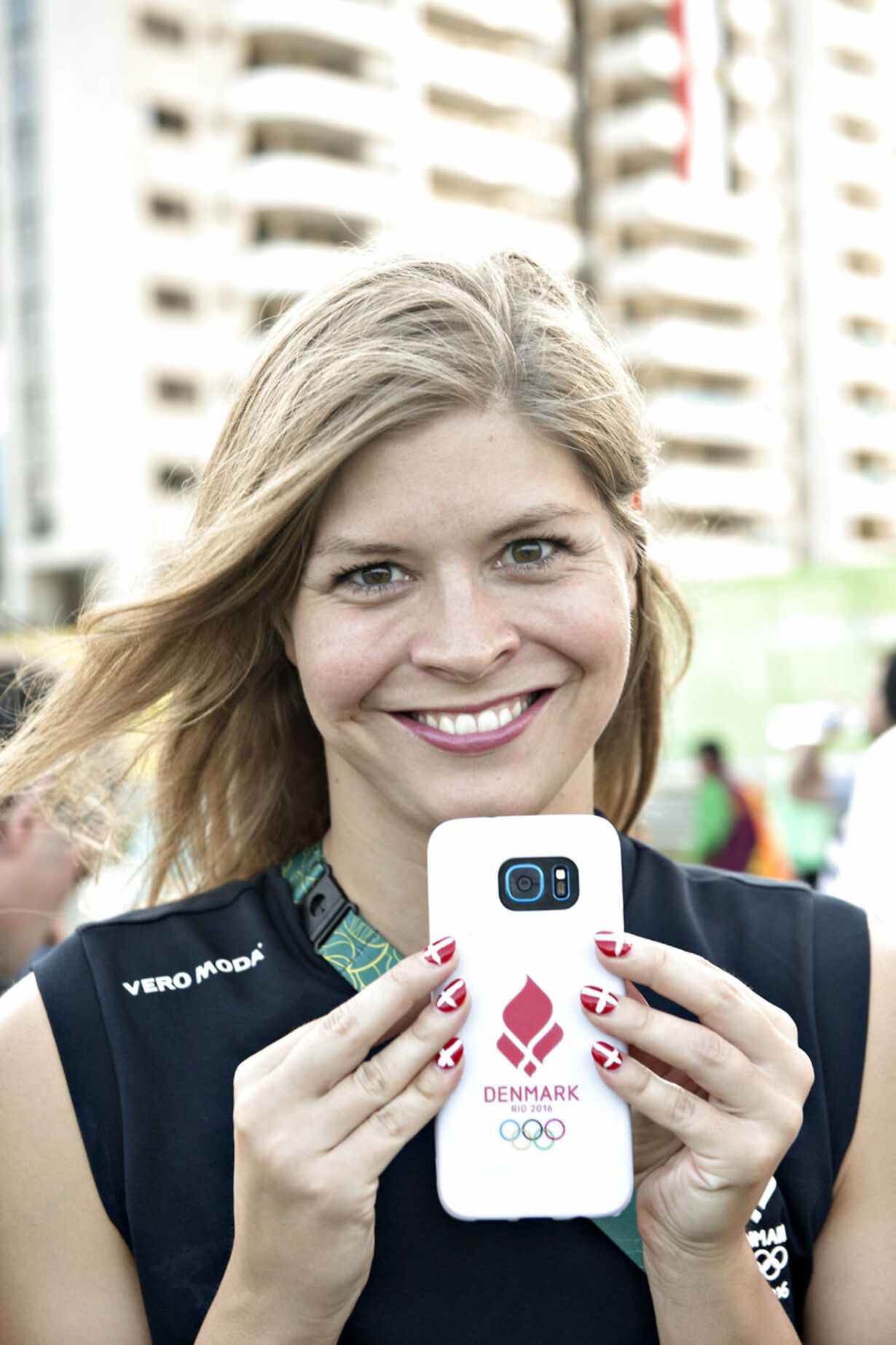 Lotte Friis Pressemøde OL2016