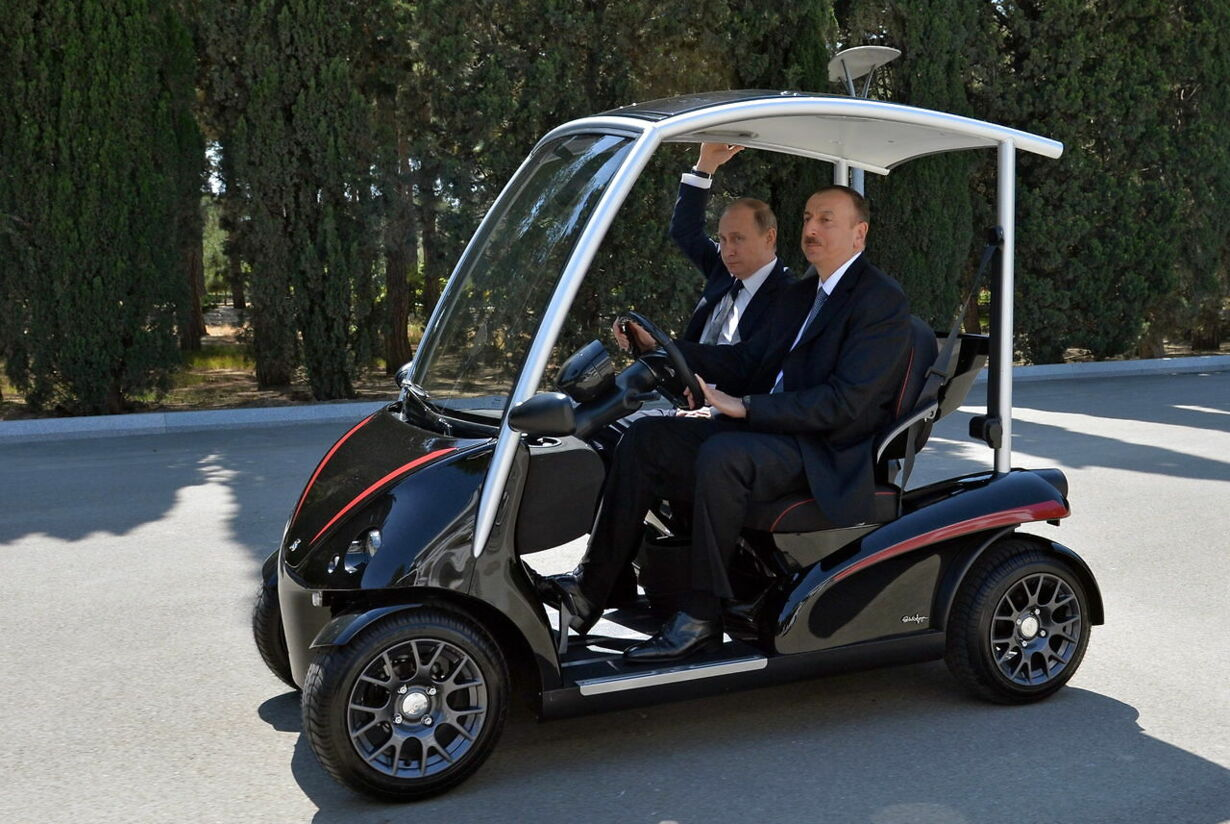 AZERBAIJAN RUSSIA PUTIN ALIEV DIPLOMACY