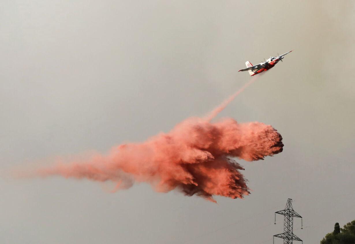 Se billederne: Frankrig hærges af voldsomme skovbrande