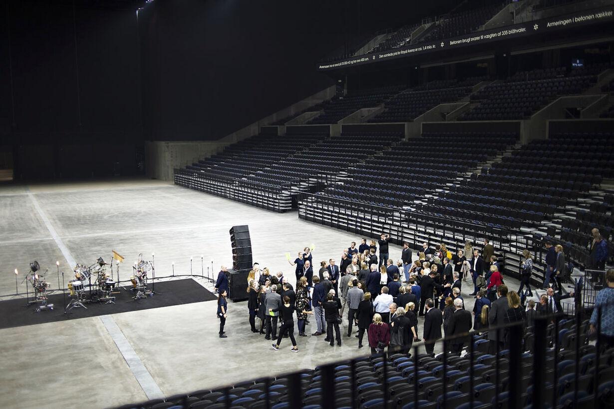 Indvielse af Royal Arena