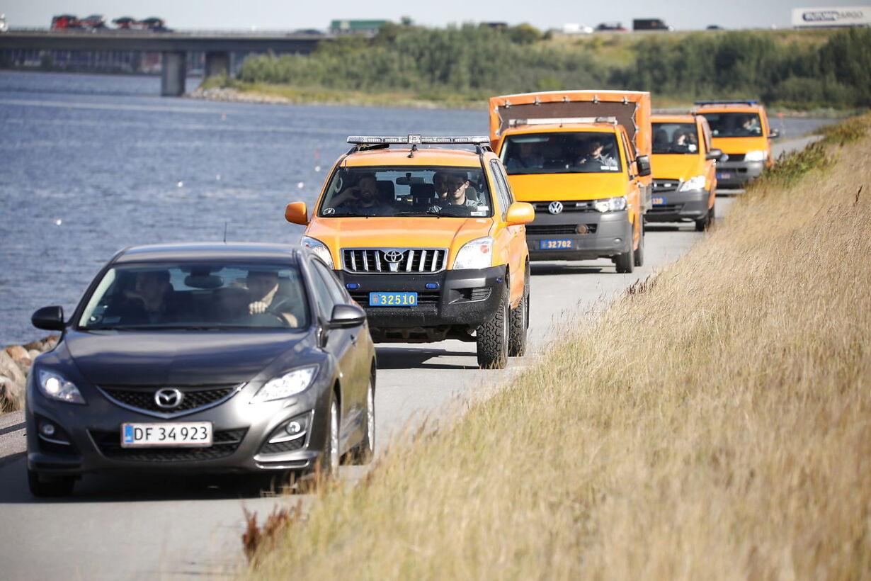 Beredskabsstyrelsen leder efter ligdele i Køge Bugt