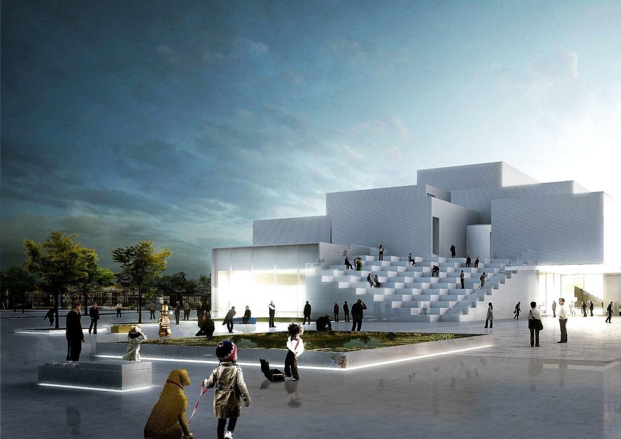 Stjernearkitekt står bag nyt Lego-museum DENMARK LEGO