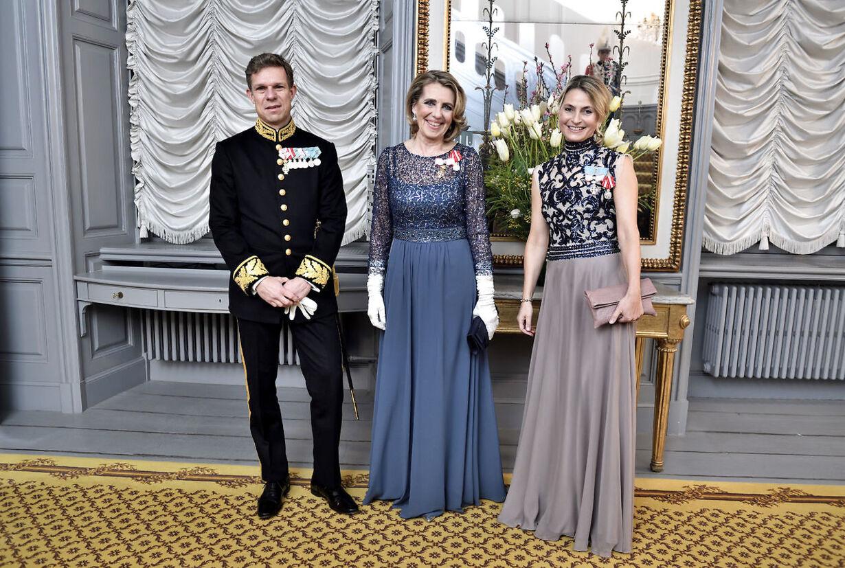 Dronningen holder nytårskur og -taffel for regeringen