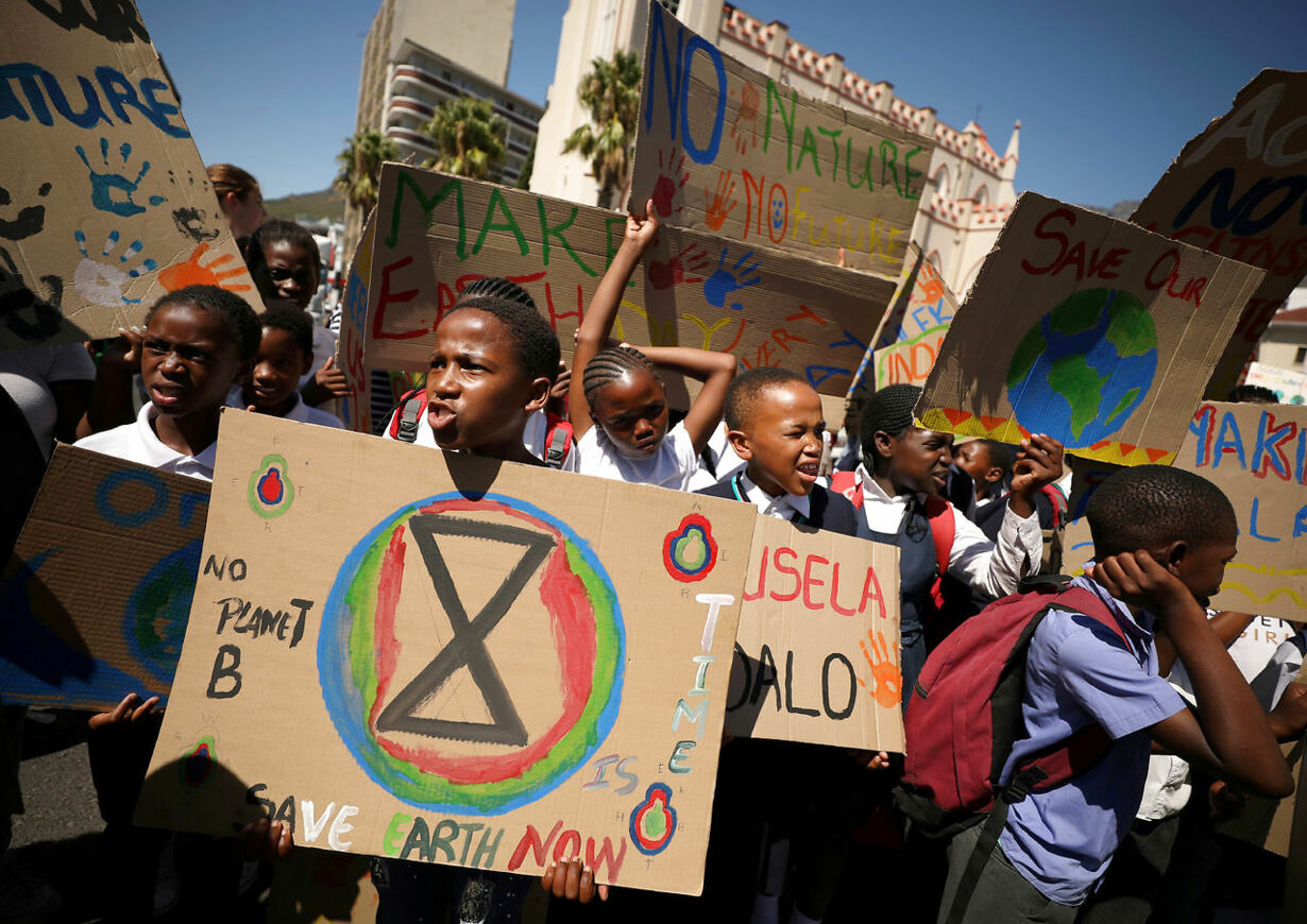 CLIMATE-CHANGE/YOUTH-SOUTH AFRICA