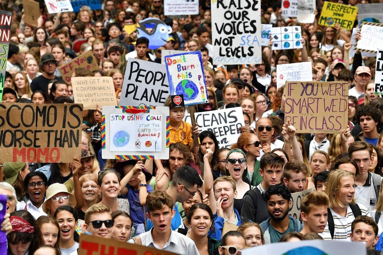 AUSTRALIA-CLIMATE-YOUTH-STUDENT-STRIKE