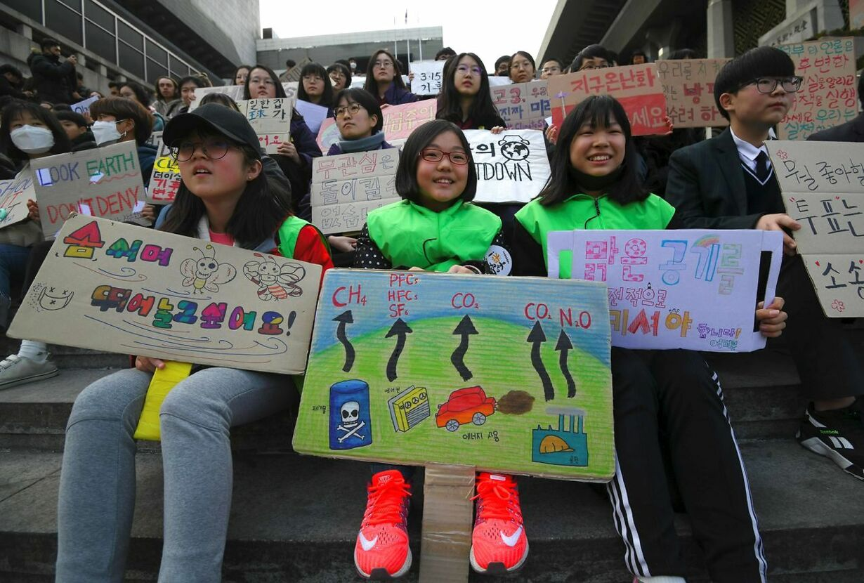 SKOREA-CLIMATE-YOUTH-STUDENT-STRIKE