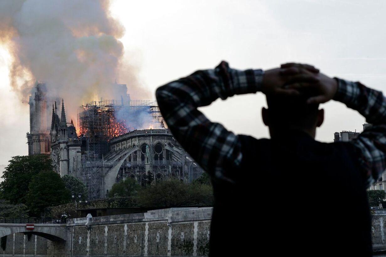 FRANCE-FIRE-NOTRE DAME