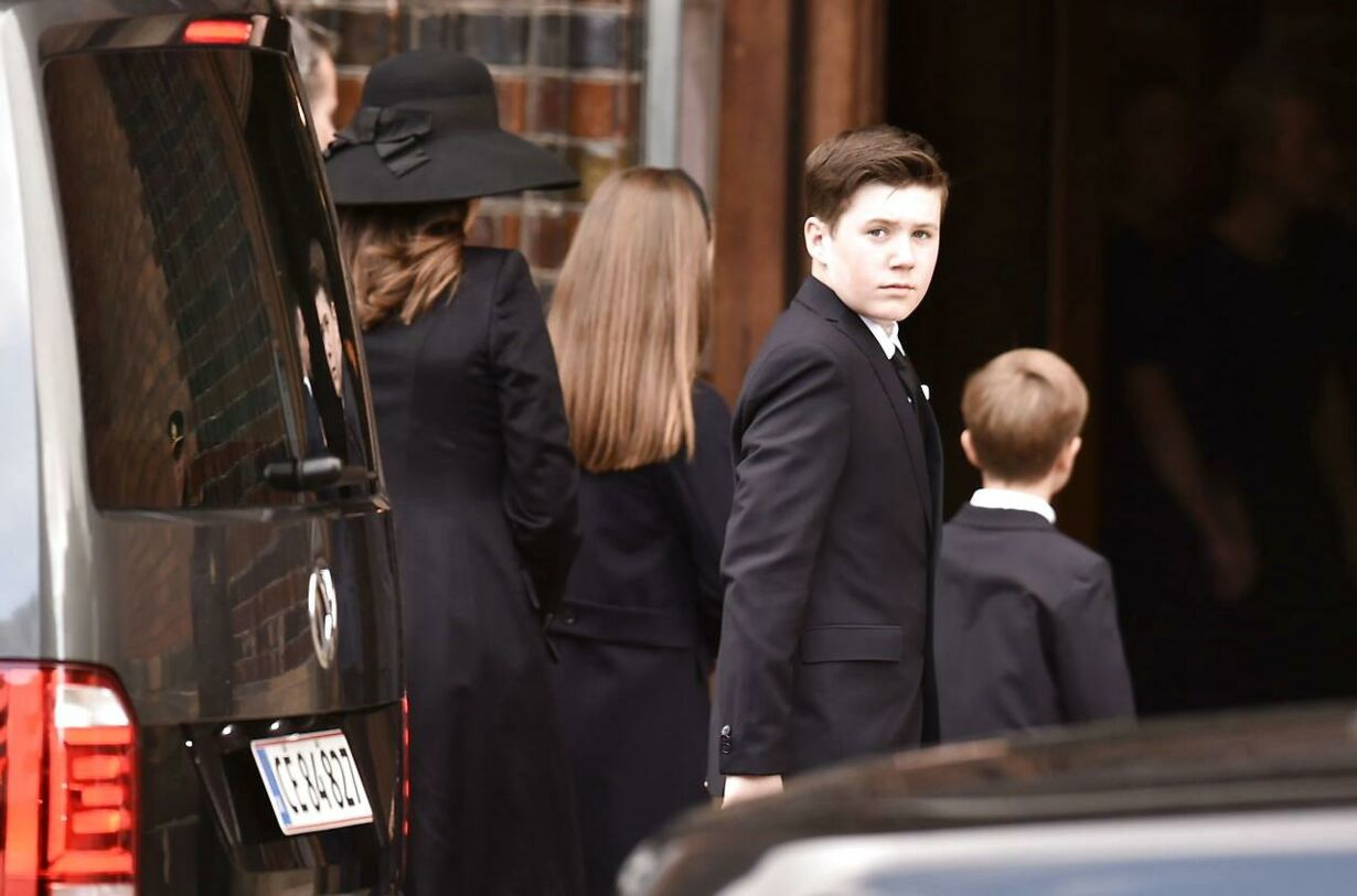 uneral service for the three children of Bestseller CEO Anders H