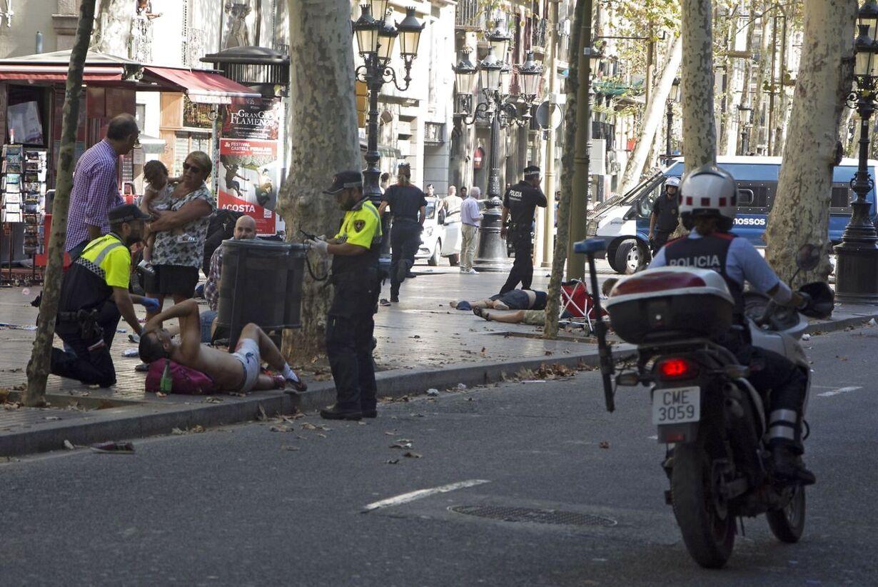 SPAIN BARCELONA VEHICLE ATTACK