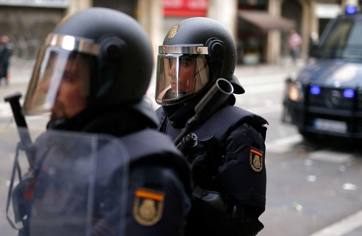 SPAIN-CATALONIA-STRIKE