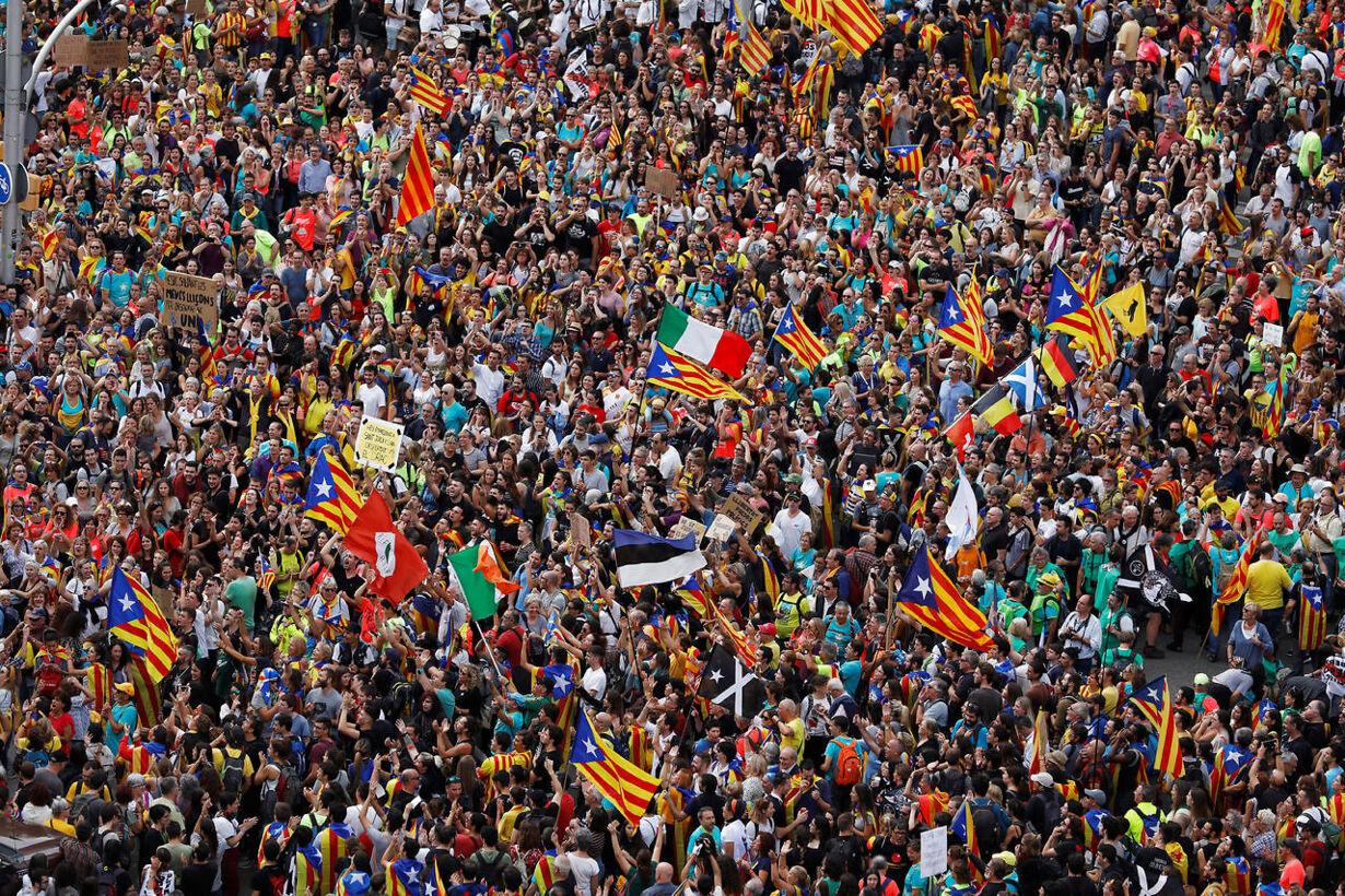 SPAIN-POLITICS/CATALONIA-STRIKE