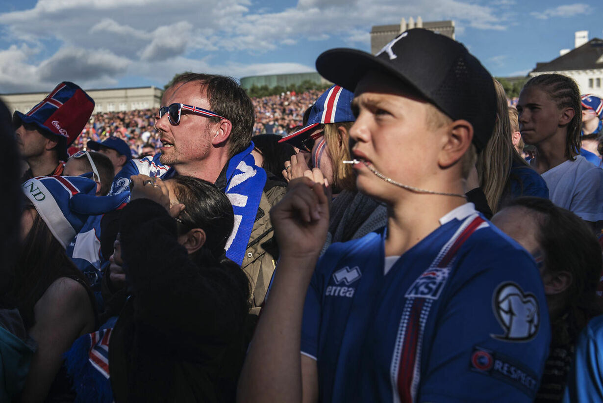 Island ude af EM