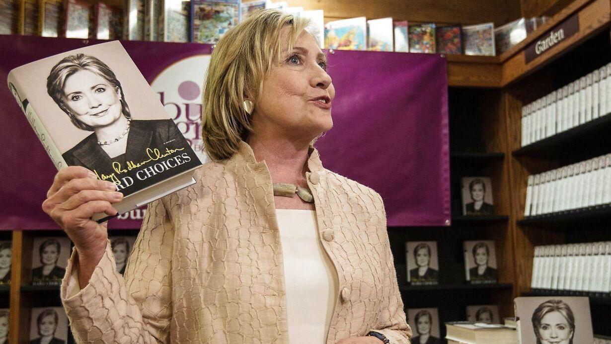 Clinton bog - Hard choices