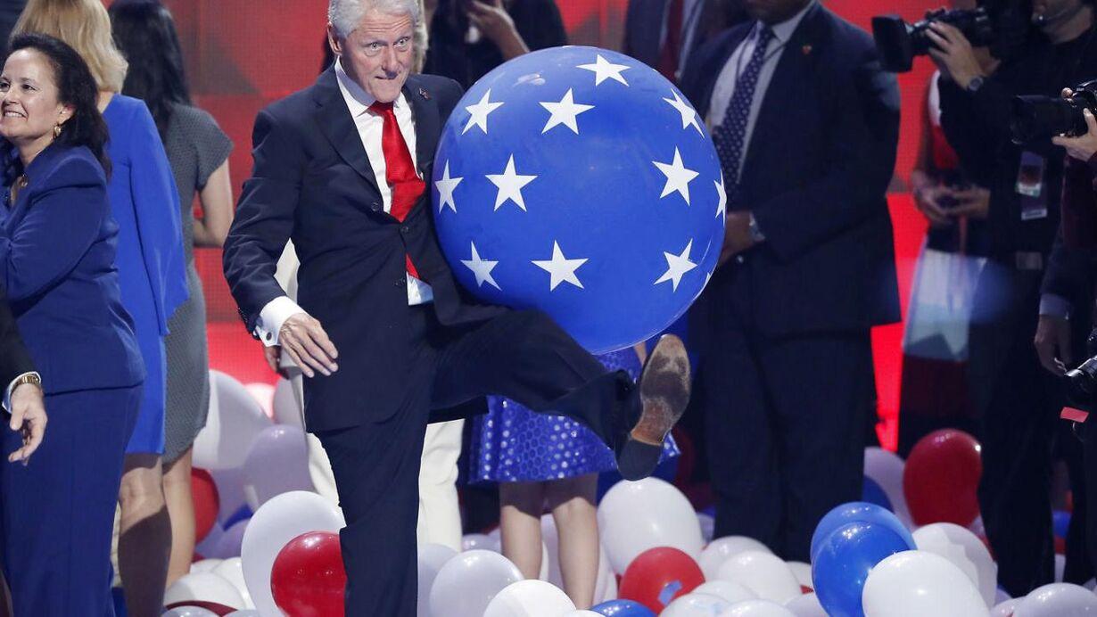 Clintons balloner