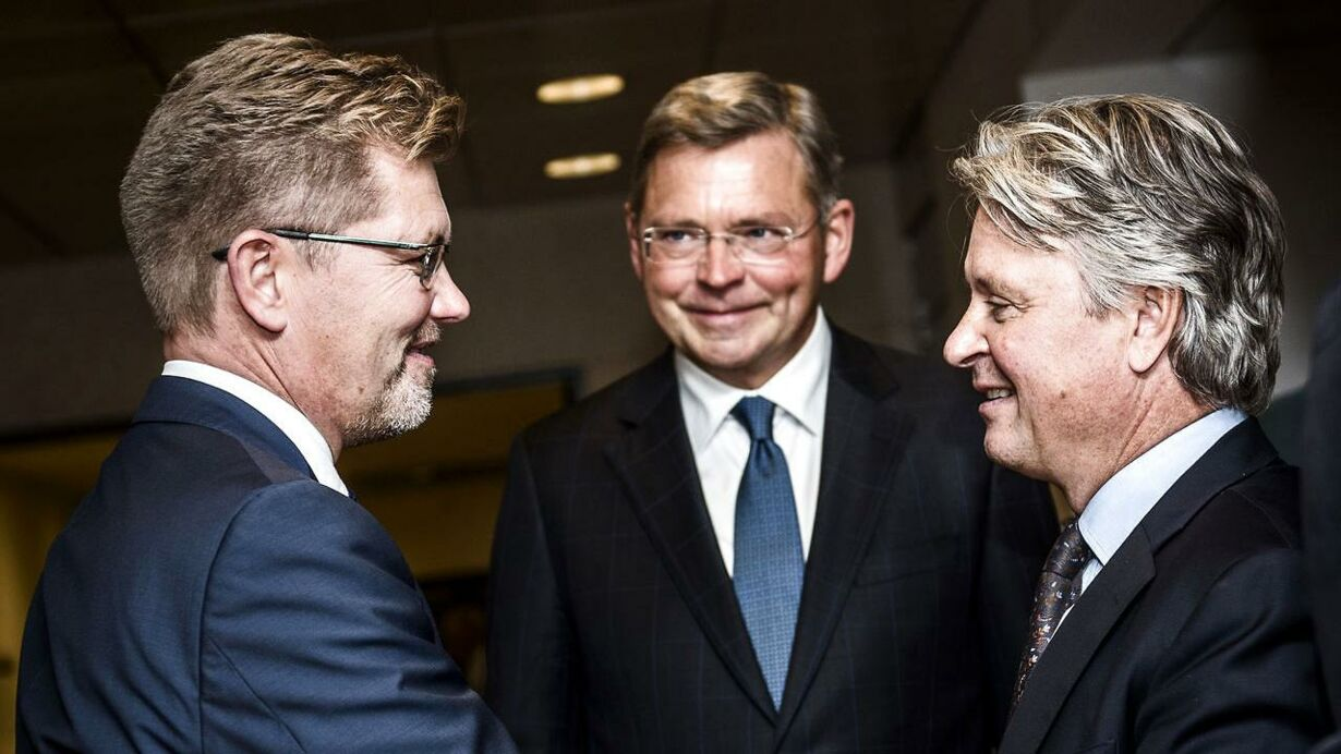 Her ses Overborgmester Frank Jensen, Casper von Koskull og Christian Clausen.