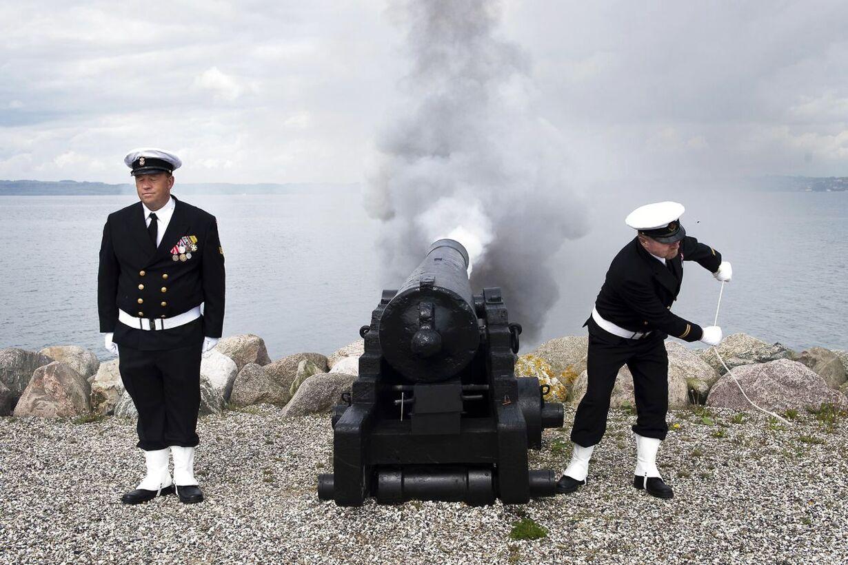 Prinsgemalen på Fregatten Jylland