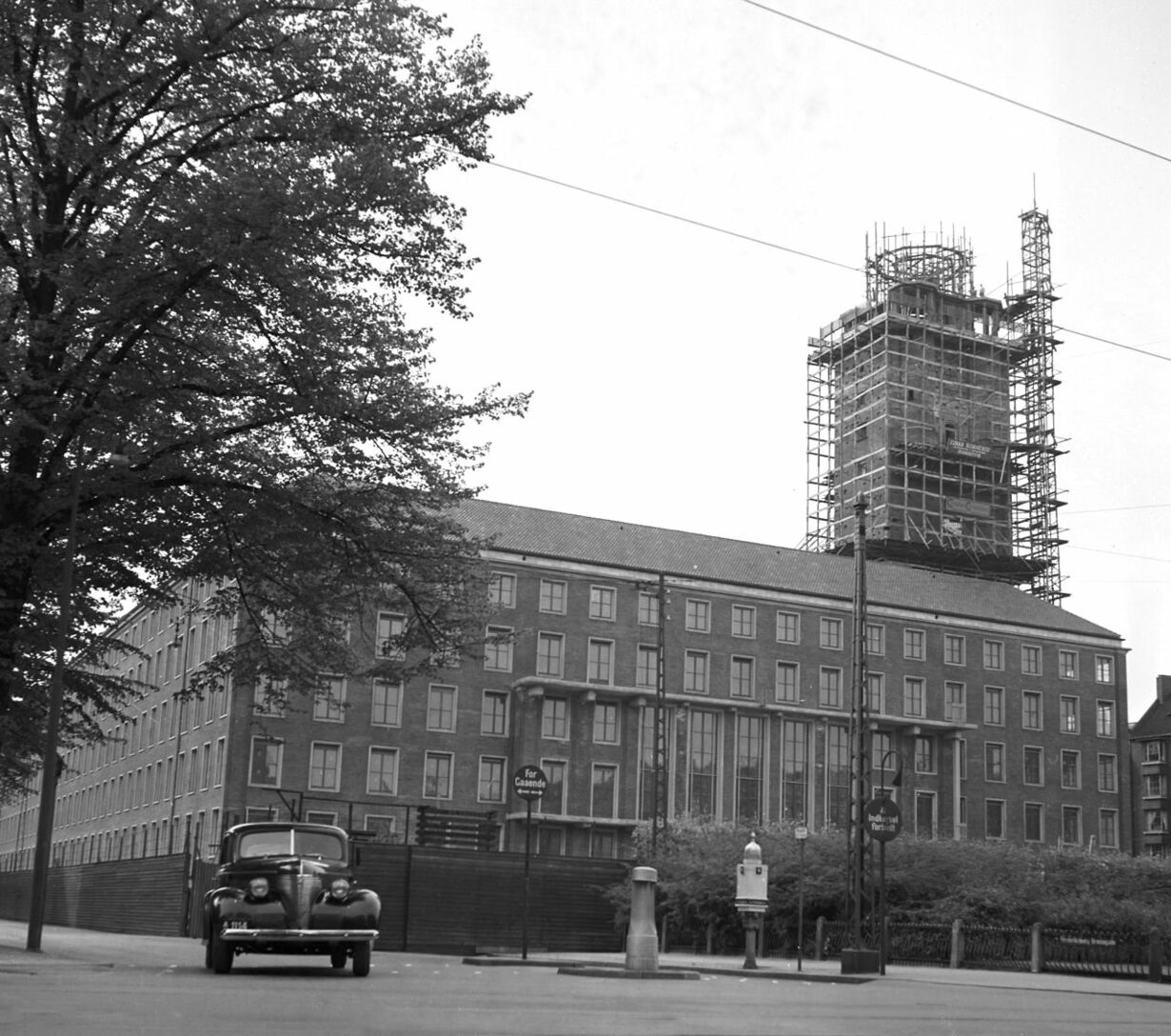 1952 frederiksberg rådhus dkdengang