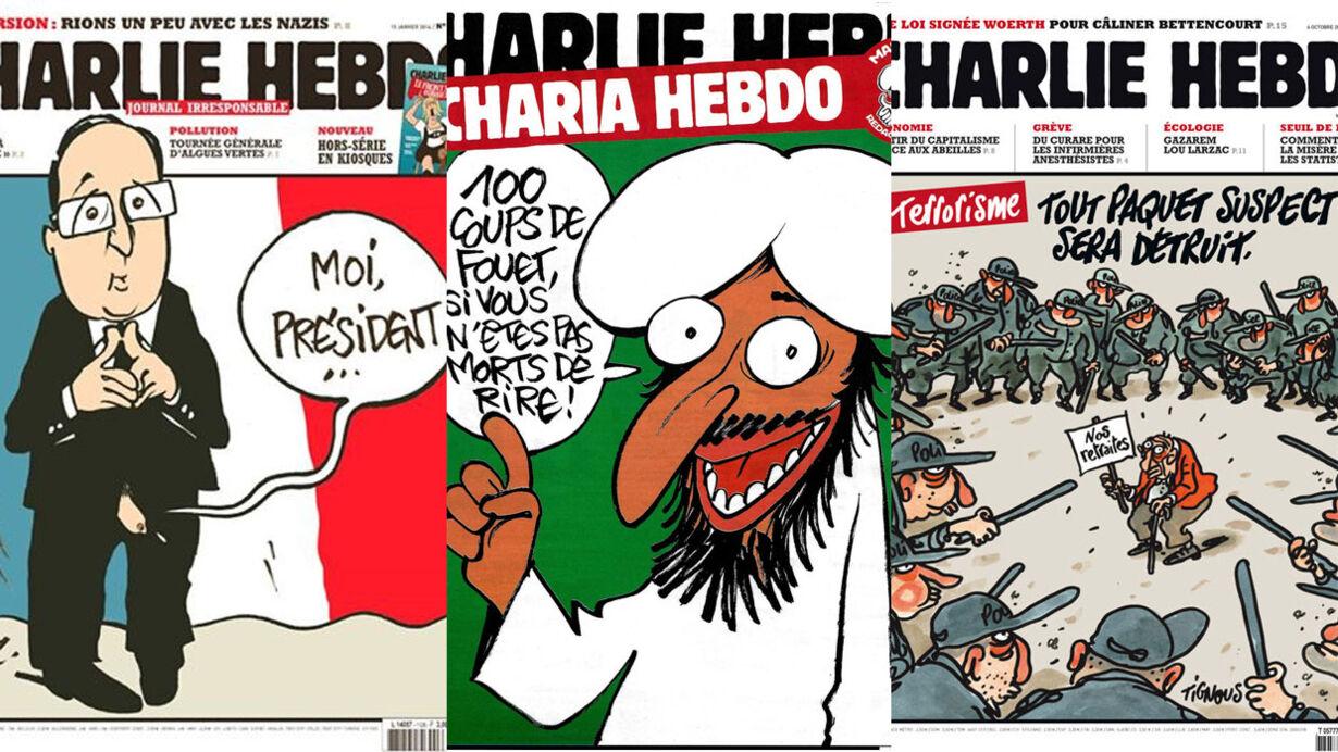 Charlie Hebdo forsider