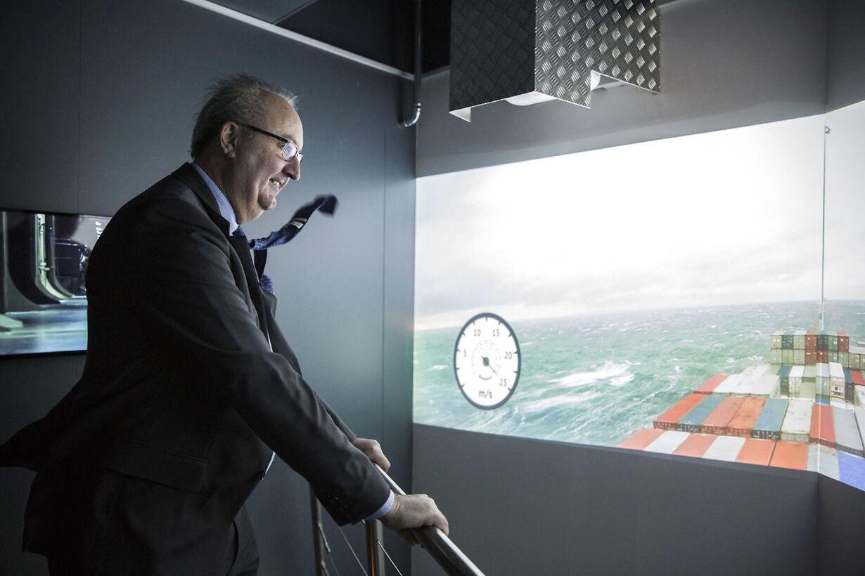 Kronprins Frederik åbner det nye Experimentarium