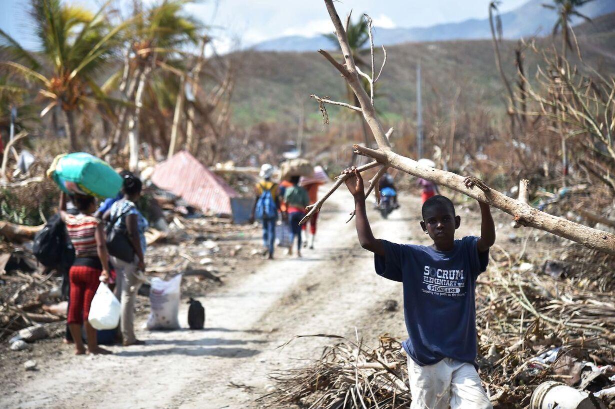 HAITI-HURRICANE-MATTHEW-AFTERMATH