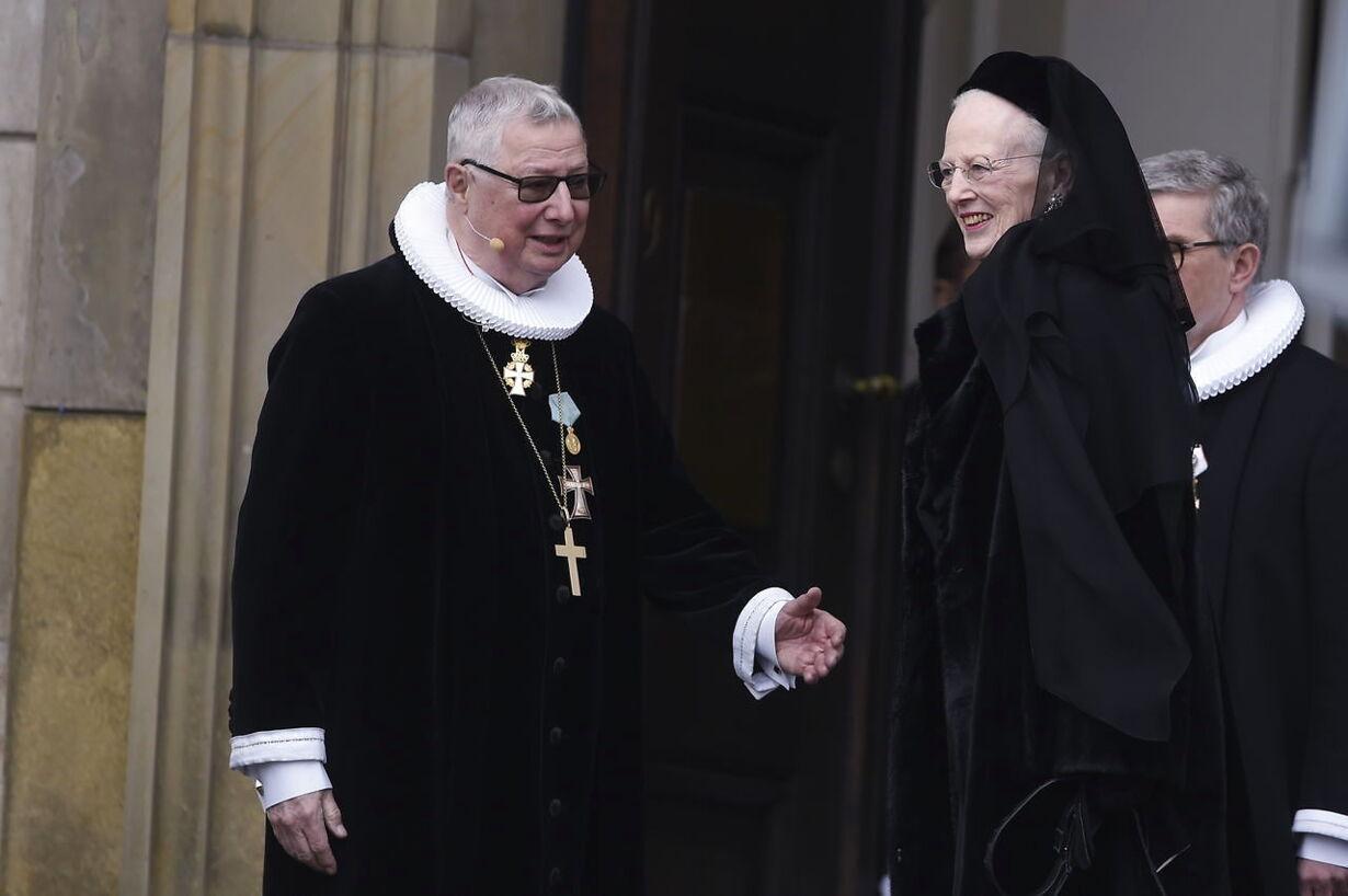 Prins Henrik bisættelse i Christiansborg Slotskirke tirsdag den