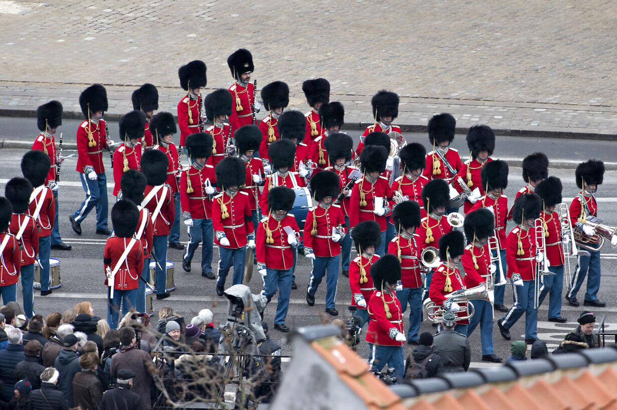 Prins Henrik bisættes fra Christiansborg Slotskirke