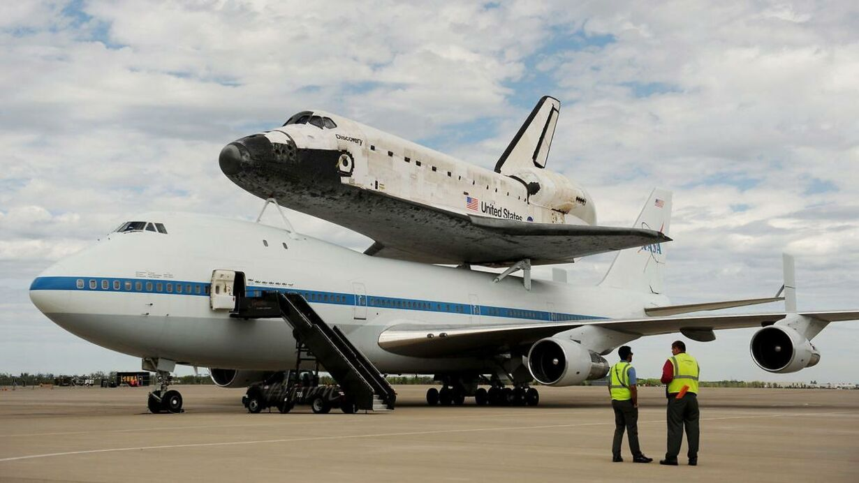 USA SPACE SHUTTLE DISCOVERY