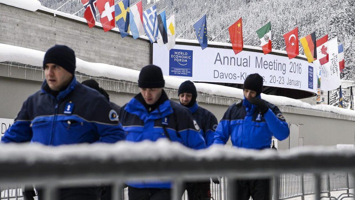 SWITZERLAND ECONOMY WEF 2016 DAVOS