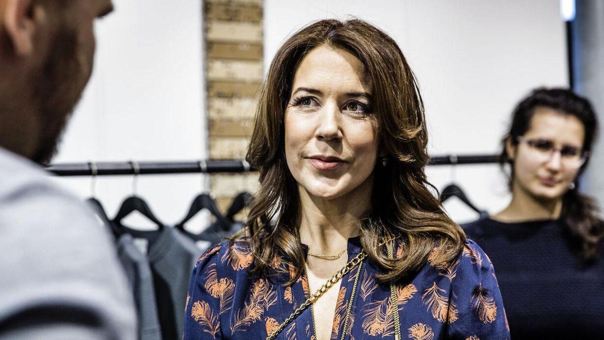Kronprinsesse Mary til talentprisen Designers Nest