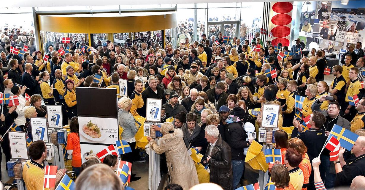 Ikea Aalborg åbning