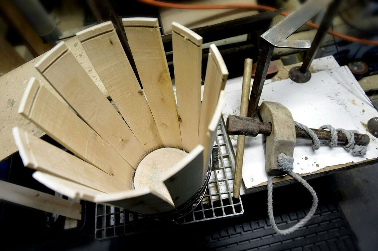 De faldne håndværk: Bødkeren