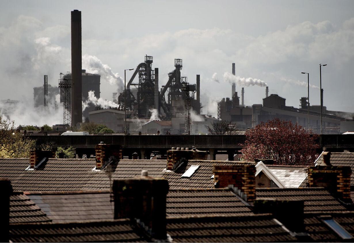 Britisk stålindustri i overlevelseskamp