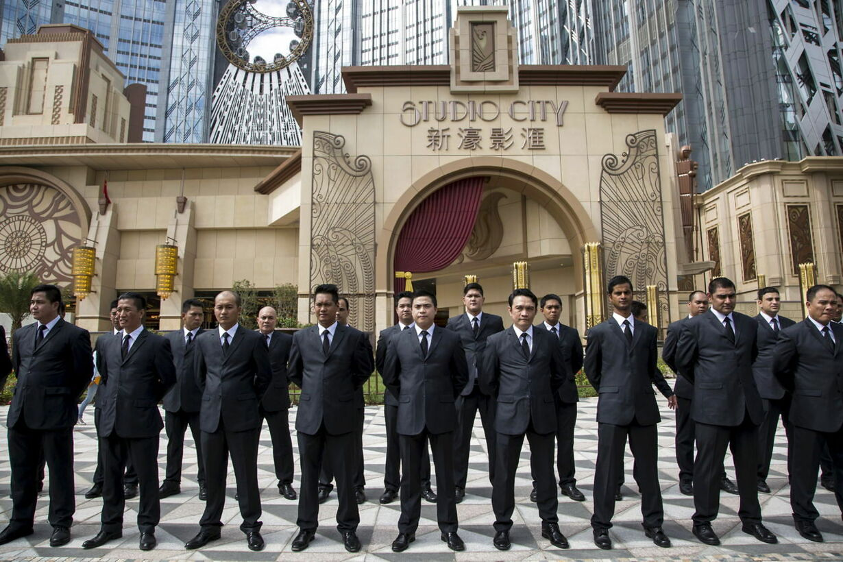 MACAU-GAMBLING/MELCO-CROWN