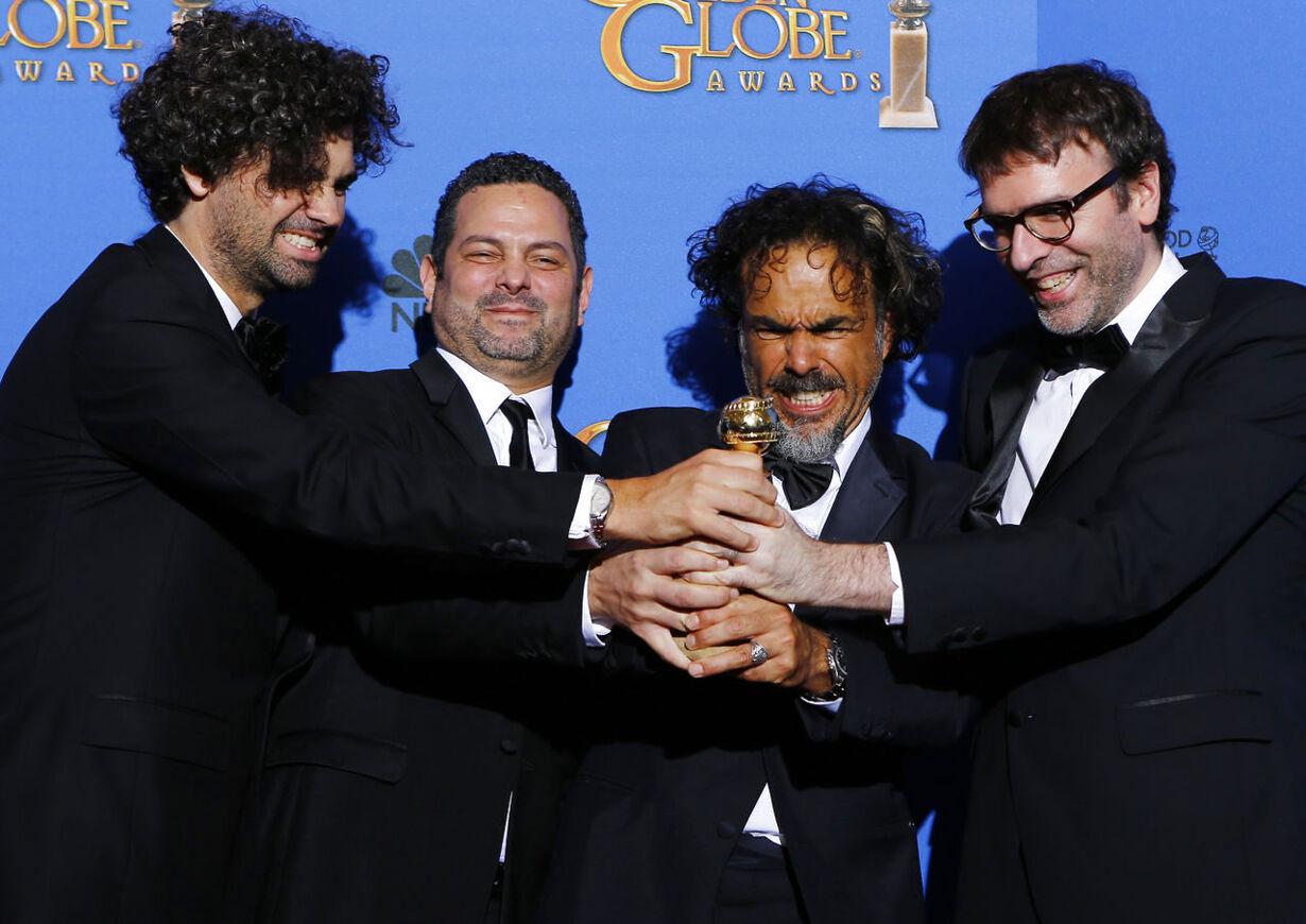 Se billederne: Glamour til Golden Globe 2015