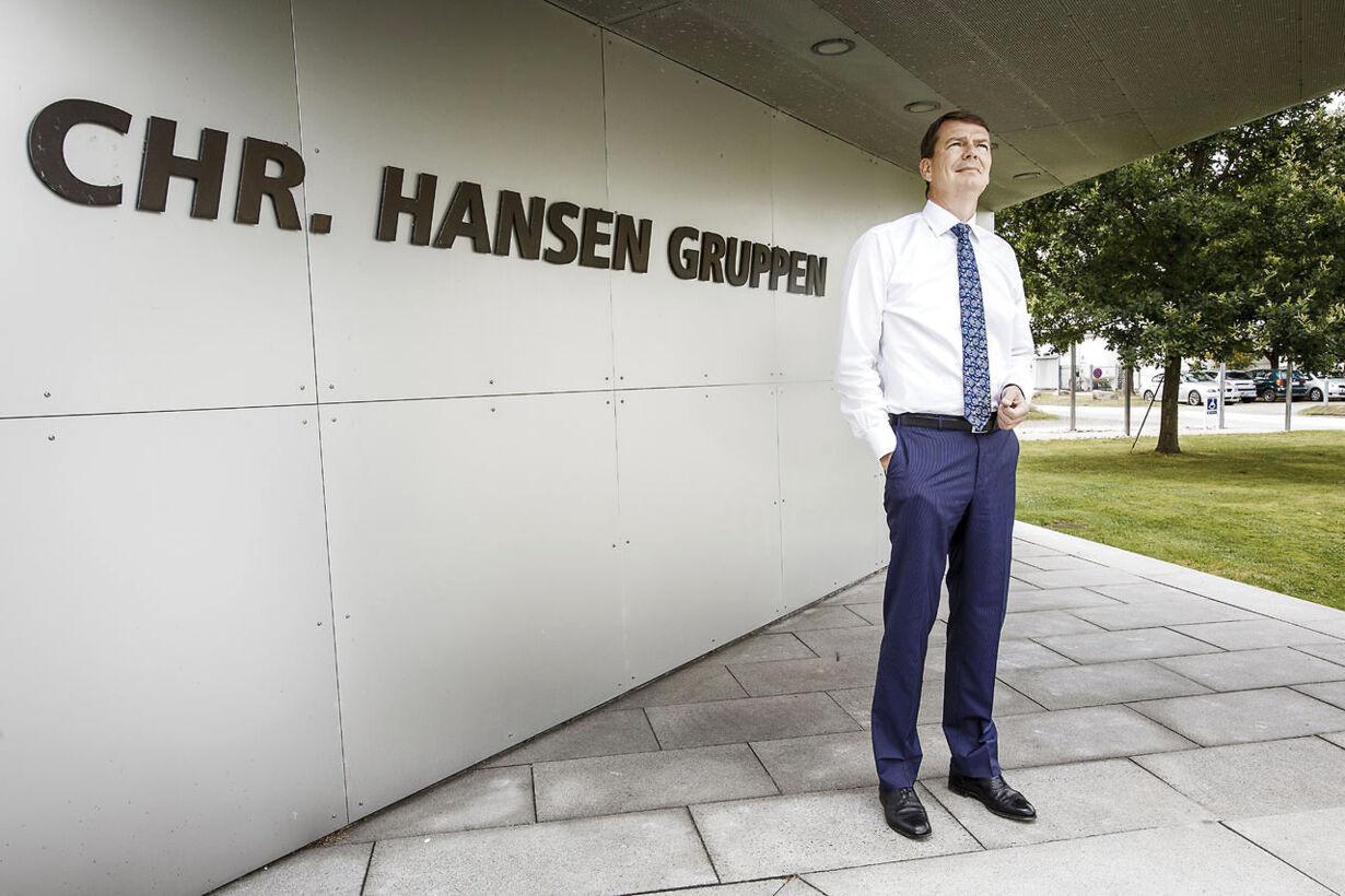 Chr. Hansen får overskud i milliardklassen