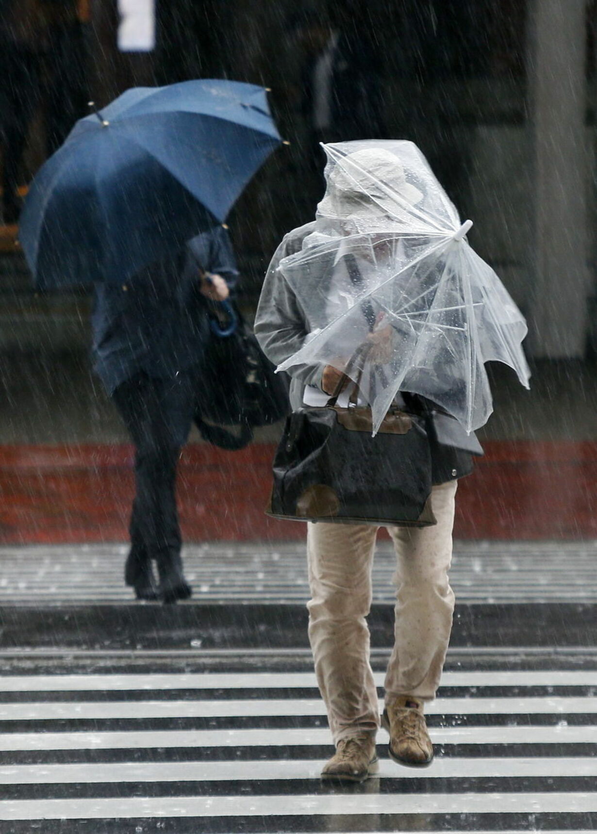 JAPAN WEATHER TYPHOON PHANFONE