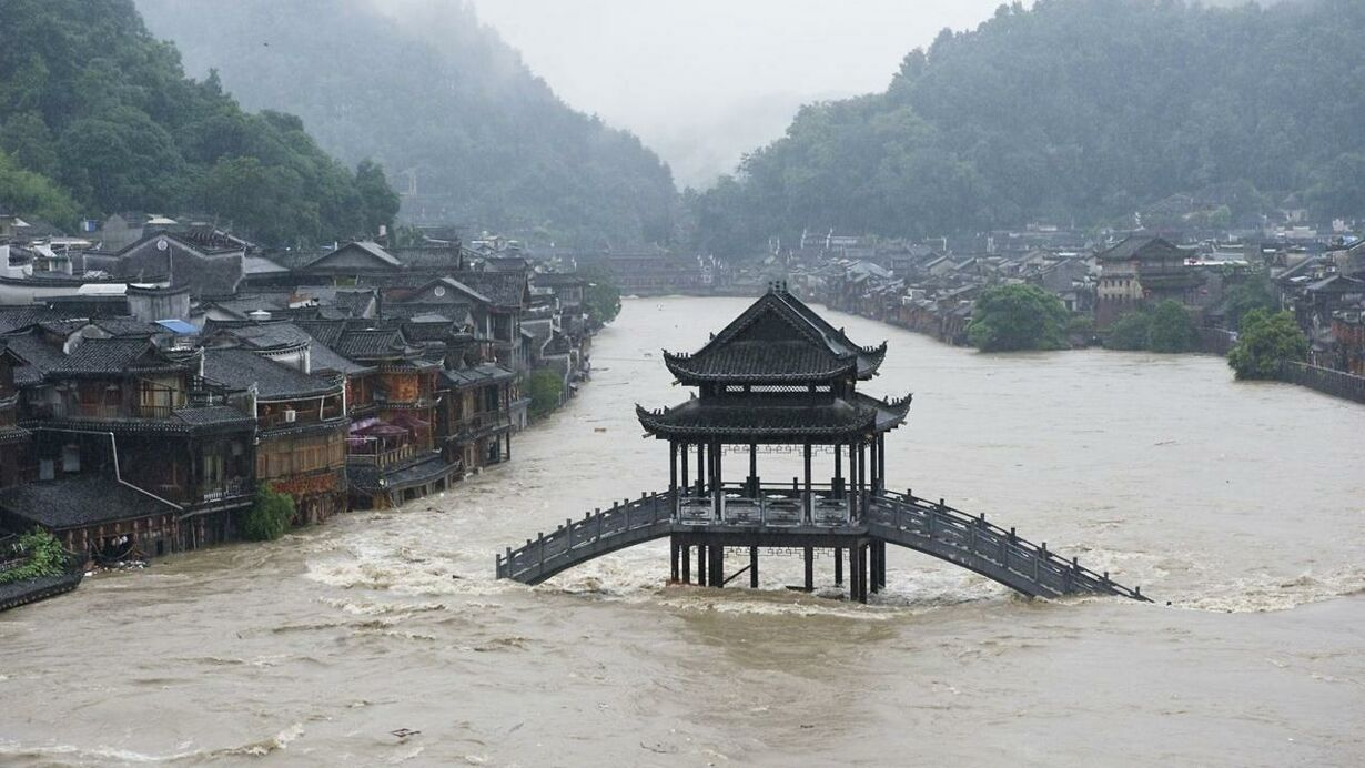 CHINA-FLOOD