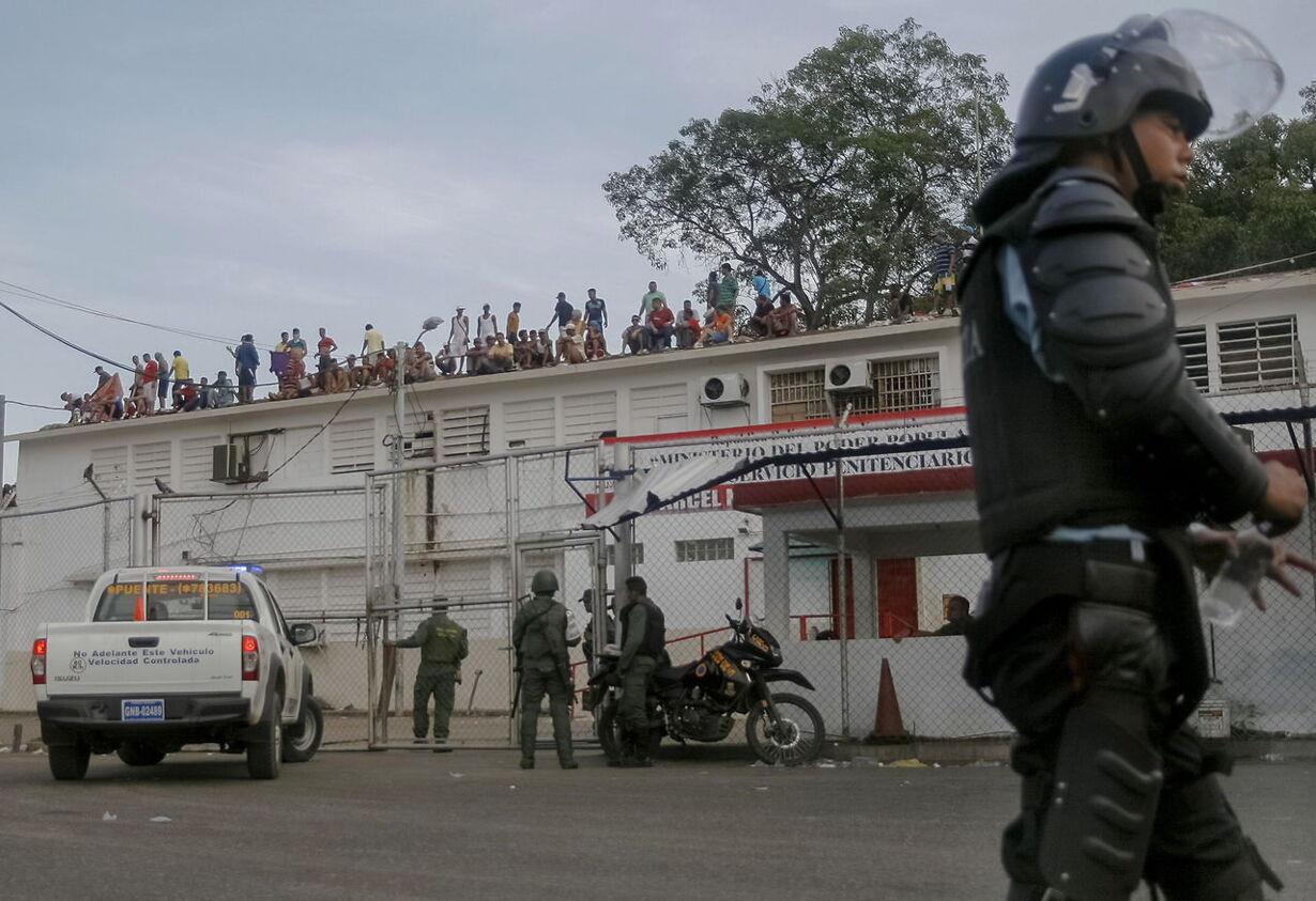 Sabaneta Jail in Venezuela