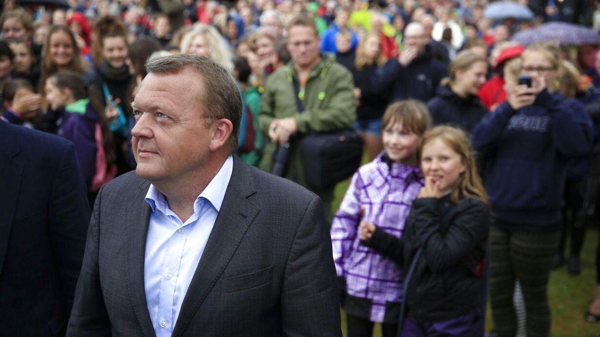 Lars Løkke Rasmussen holder sin grundlovstale