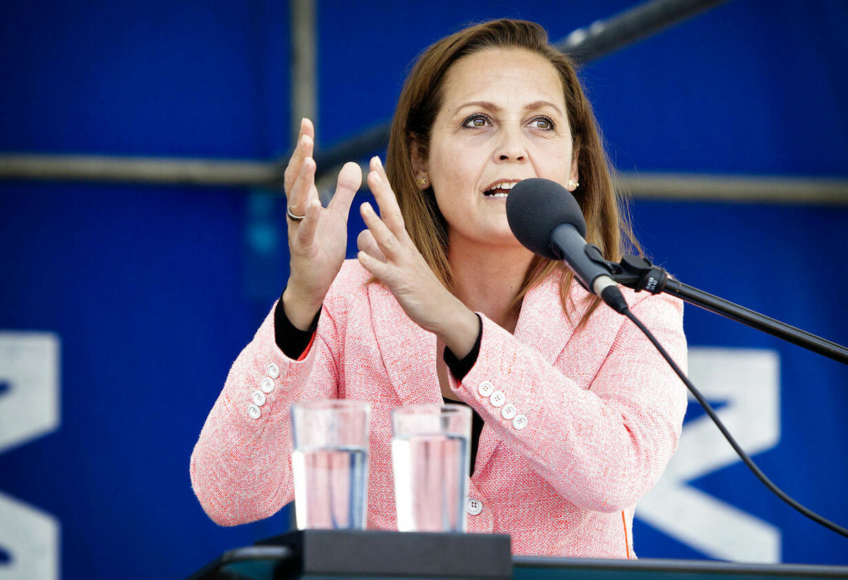 Pia Olsen Dyhr holder grundlovstale