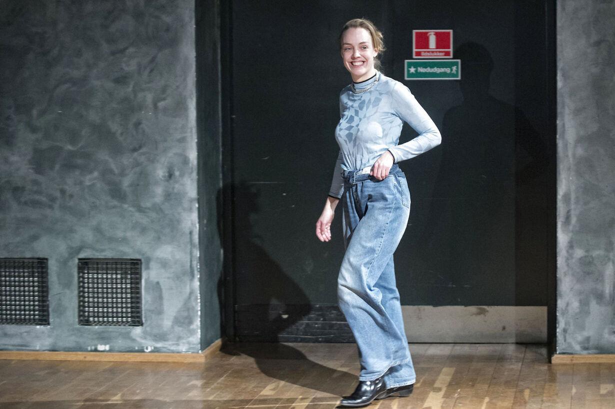 Freja Dalsjø modeshow