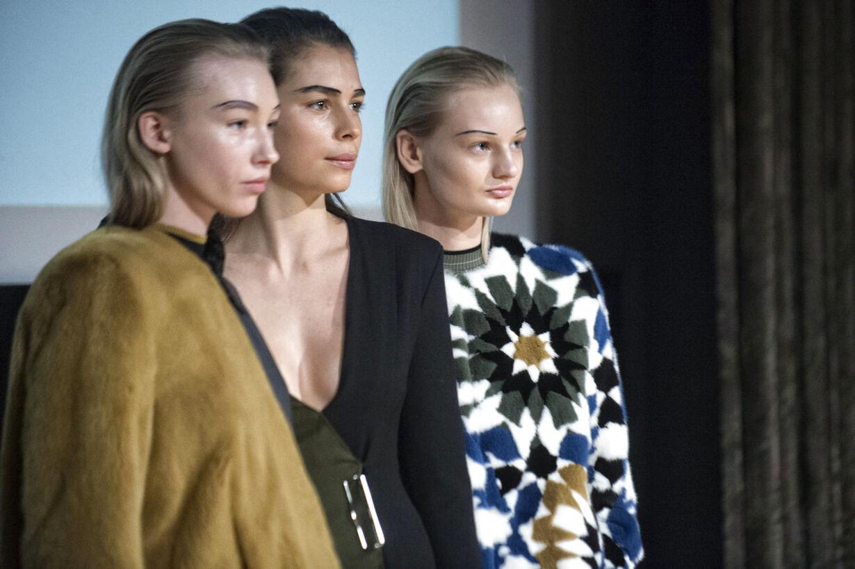 Freja Dalsjø modeshow Modeuge2015