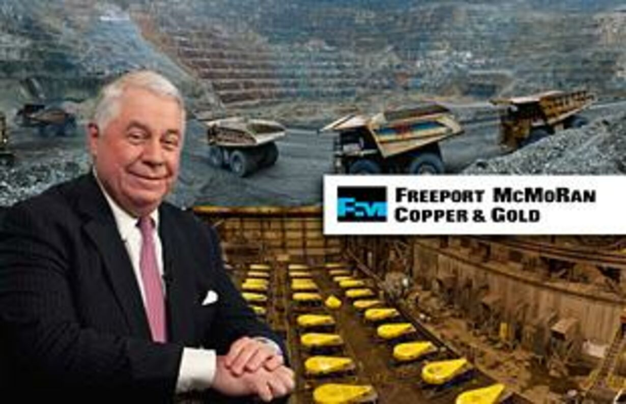 nr. 7 - Richard Adkerson, Freeport McMoRan Copper and Gold