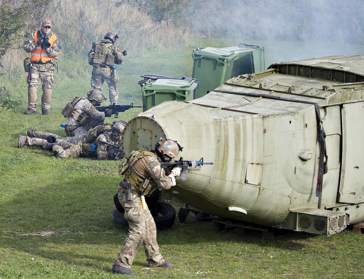 Night Hawk militærøvelse Jægerkorpset, Specialstyrker
